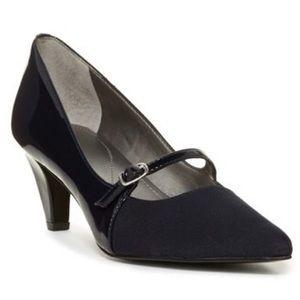 Tahari Melanie Mary Jane Pump Heels Black Size 9